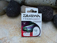 DAIWA TOURNAMENT FORELLEN VORFACHHAKEN SNELLED HOOKS ANGELHAKEN VORFACH 60CM