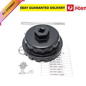 For Toyota Landcruiser 4.5L V8 VDJ76 VDJ78 VDJ79 Oil Filter Socket Removal Tool