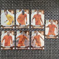 Dirk Kuyt Wesley Sneijder Netherlands World Cup 2014 Panini Prizm Lot 7 Jong