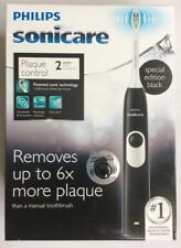 NEW Philips Sonicare™ 2 Series Plaque Control Battery Electric Toothbrush, Black
