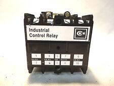 CUTLER-HAMMER ARD440SR MODEL B 120V COIL CONTROL RELAY