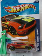 2011 '07 FORD SHELBY GT-500 #111∞Kmart Excl Micro Cinder RED∞Hot Wheels