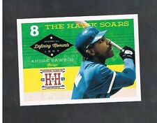 ANDRE DAWSON #DM8 CUBS Defining Moments 2013 panini Hometown Heroes