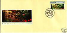 1989 Gardens of Australia $5 Stamp Fdc - Monbulk Pmk