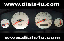 MG ZR / ZS & ROVER 25 / 45 (1999-2005) 130mph or 150mph - WHITE DIAL KIT