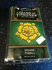 House Tyrell Intro Deck Game of Thrones Card Game Fantasy Flight Games