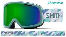 Smith Optics Riot Women's Saltwater Fresco CPS Green Mirror Lens Ski Goggles