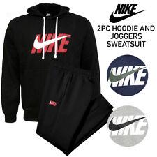 Nike Men's Jersey Sudadera Con Capucha Polar y Sweatpants Completo 2 PC Jogger Sweatsuit