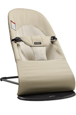 BabyBjorn Khaki Beige Color Baby Bouncer Brand New