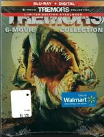 Tremors 6 Movie Collection Limited Edition Bluray + Digital Steelbook New Sealed