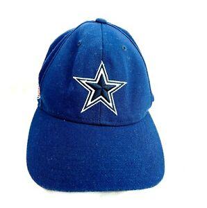 Vintage Dallas Cowboys Star Cap Hat Reebok NFL On Field  One Size Fits Most