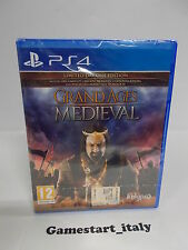 GRAND AGES MEDIEVAL LIMITED DAY-ONE EDITION - SONY PS4 - NUOVO NEW