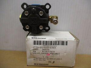 Wheel Brake Pneumatic Valve RCSK17631 AM General