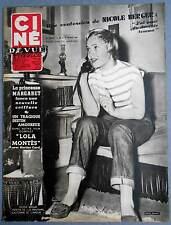 ►CINE REVUE 21/1955-NICOLE BERGER-LANA TURNER-CLARK GABLE-ESTHER WILLIAMS-BARDOT