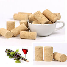 5Pcs Rustic Wood Cork Bottle Stoppers Wine Corks Kitchen Bar Crafts Accessories