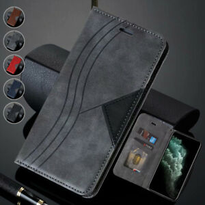 Magnetic Flip Wallet Case Leather Cover for Samsung Galaxy S20 Ultra FE S10e S9+