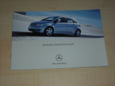 47247) Mercedes B-Klasse Prospekt 12/2004