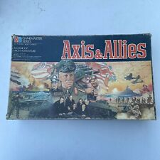 Vtg Axis & Allies Spring 1942 Gamemaster Series MB Board Game Complete 1984