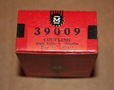 """Vintage James Millen 39009 COUPLING High Voltage Steatite For 1/4"""" Shaft NOS"""