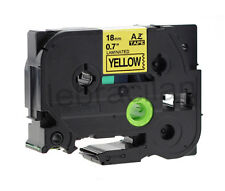 COMPATIBLE LABEL TAPE FOR BROTHER PT-H105 6mm TZ FOR P-TOUCH H101C TZE TZ2