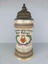 Andenken Krug @ BIERKRUG  @ M. G. V. Eintracht Küppersteg @ 1910 zum Geburtstag