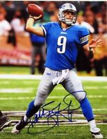 Matthew Stafford Lions Signed Autographed 8X10 Photo REPRINT