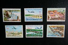 (T4) PORTUGAL Portuguese Mozambique 1963 airmail nice set (MNH)