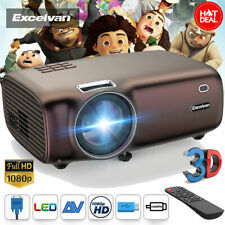 5000Lumens Mini Projector HD Home Theater Video Movie Multimedia 3D LED HDMI USB