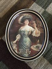 Vintage Oval Serving Platters (2) Metal