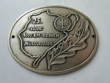 ADAC 1000 km corse 1979 NURBURGRING PLACCA BADGE plaque PLACCA AUTO TARGA