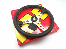 MOMO Steering Wheel Prototipo Silver Leather 350mm Brand New
