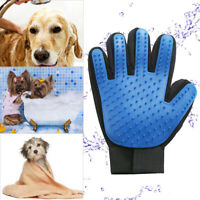 Pet Dog Grooming Cleaning Glove Deshedding Right Handed Hair Removal Brush #D