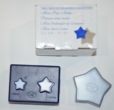 "Creative Memories Mini Star Maker Paper Punch 3/4"" & 1""  NEW"