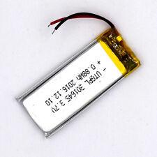 3.7V 301645 250mAh Lipolymer Battery Rechargeable Cell For GPS Handset Speaker