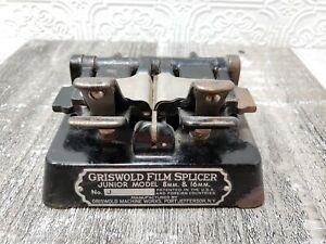 Vintage Griswold Film Splicer Jr. Junior Model 8mm & 16mm Number J76918