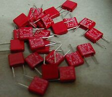 25 x Wima MKS-2 47nf 63v 5mm lead pitch polyester film capacitor MKS2C024701A00
