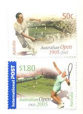 Australia- Tennis Legends  (2005 ) mnh 2465/6