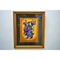 Gold Framed Anatole Krasnyansky Painting