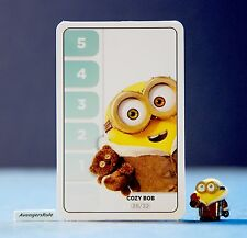 Despicable Me Minions Challenge Card Game 28/32 Cozy Bob
