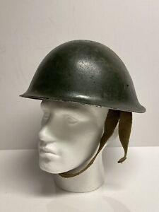 Cold War British Army Mk4 Steel Turtle Comabt Helmet Post War