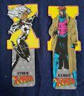 Bookmarks x2 X-Men Storm Gambit Antioch 1994