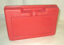 Vintage 1980s Red Lego Carry Case Storage Container Made In USA 11 X 7 inch