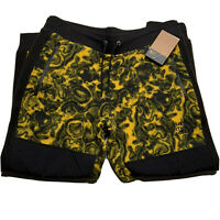 The North Face 94 Rage Classic Fleece Pants Men's Size Large Yellow Black