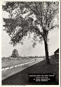 THE HOME STRETCH : EARLY INDIANAPOLIS 500 ; CHAS. BELL : TOWER STUDIOS : (1946)
