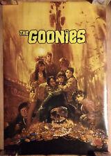 Movie Poster The Goonies Treasure Room Skull Art