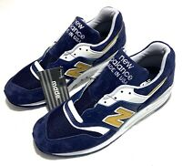 New Balance 997 Made in USA Shoes Blue / White M997PAN Men's Sz 6.5 / Women's 8