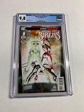 Gotham City Sirens 1 Cgc 9.8 Wp Dc Comics