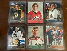 2003-04 UPPER DECK YOUNG GUNS RC SP FULL SET U-PICK FLEURY BERGERON STAAL BURNS