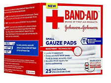 Band-Aid Gauze Pads Sterile Small 2 X 2in 25ct 381371161249DT