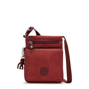 Kipling Small Crossbody Bag NEW ELDORADO in DUSTY CARMINE FW21 RRP £48